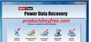 MiniTool Power Data Recovery Crack 9.1